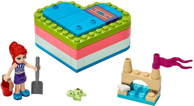 LEGO Friends 41388 Mia a letní srdcová krabička sestaveno