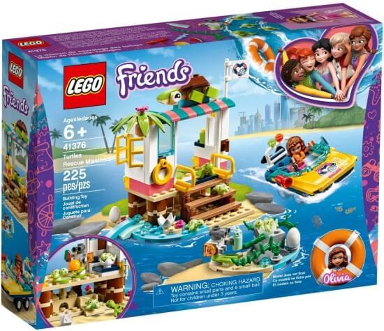 Stavebnice LEGO Mise na záchranu želv