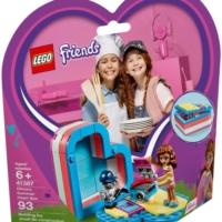 Olivia a letní srdcová krabička