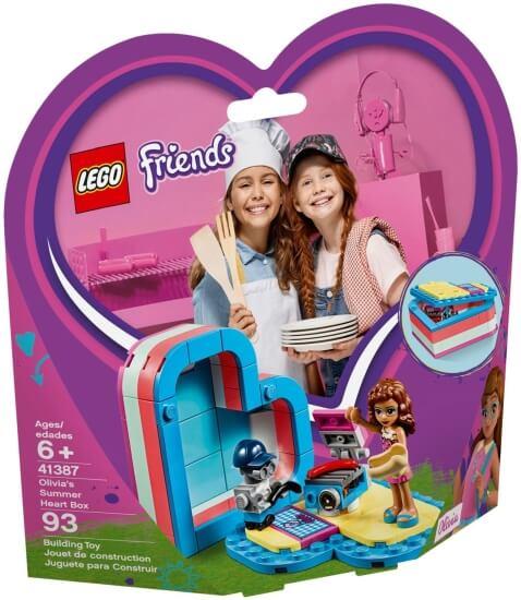 Stavebnice LEGO Olivia a letní srdcová krabička