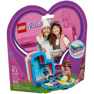 Stavebnice Olivia a letní srdcová krabička