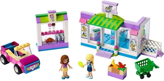LEGO Friends 41362 Supermarket v městečku Heartlake sestaveno