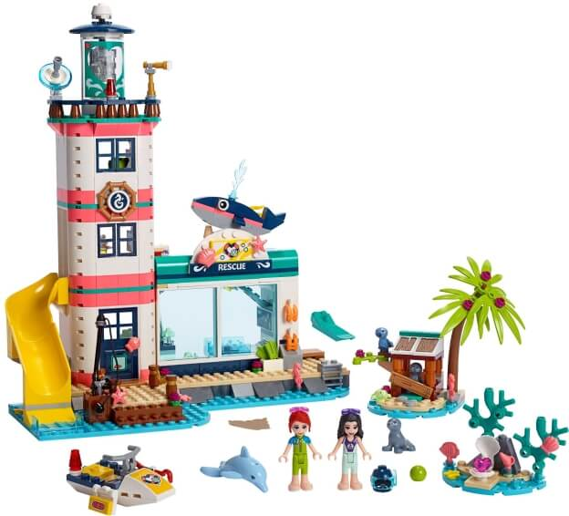 LEGO Friends 41380 Záchranné centrum u majáku sestaveno