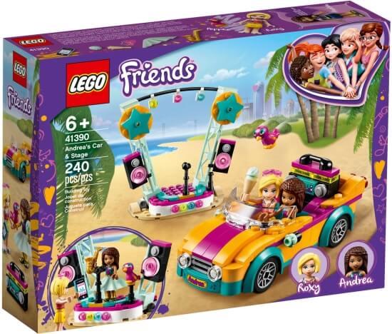 Stavebnice LEGO Andreino fáro a pódium