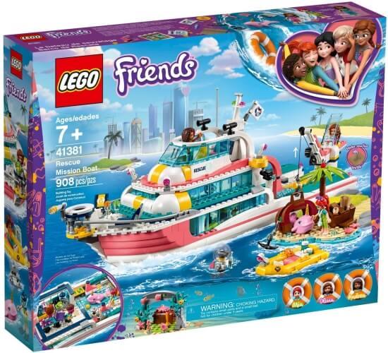 Stavebnice LEGO Záchranný člun