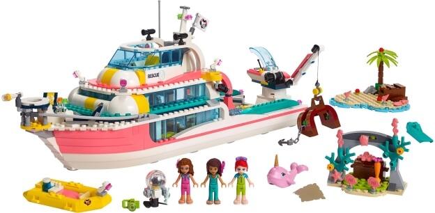 LEGO Friends 41381 Záchranný člun sestaveno