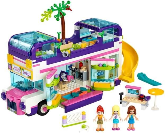 LEGO Friends 41395 Autobus přátelství sestaveno
