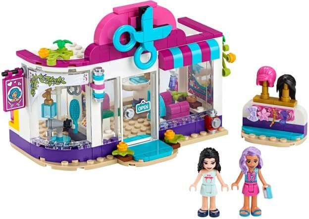 LEGO Friends 41391 Kadeřnictví v městečku Heartlake sestaveno