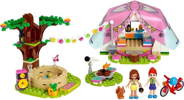 LEGO Friends 41392 Luxusní kempování v přírodě sestaveno