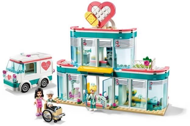 LEGO Friends 41394 Nemocnice městečka Heartlake sestaveno