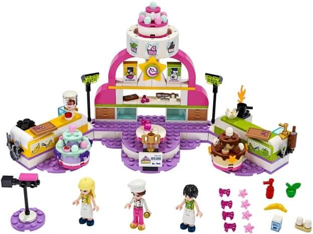 LEGO Friends 41393 Soutěž v pečení sestaveno