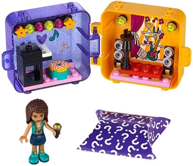LEGO Friends 41400 Herní boxík: Andrea sestaveno