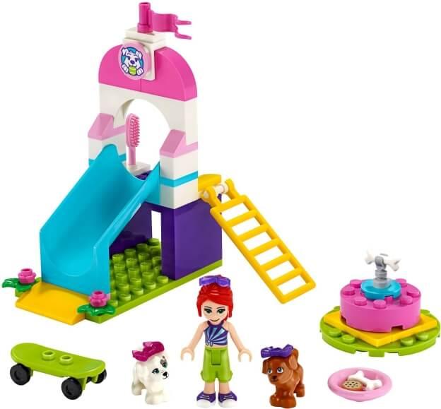 LEGO Friends 41396 Hřiště pro štěňátka sestaveno