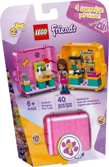 Stavebnice LEGO Herní boxík: Andrea a zvířátka