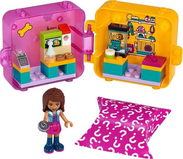LEGO Friends 41405 Herní boxík: Andrea a zvířátka sestaveno