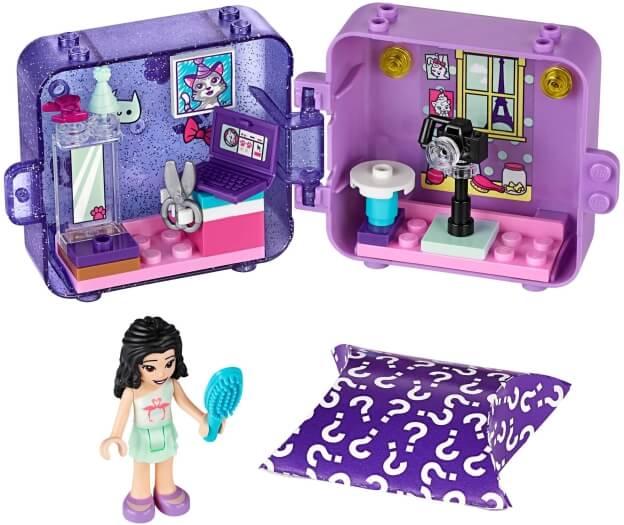 LEGO Friends 41404 Herní boxík: Emma sestaveno