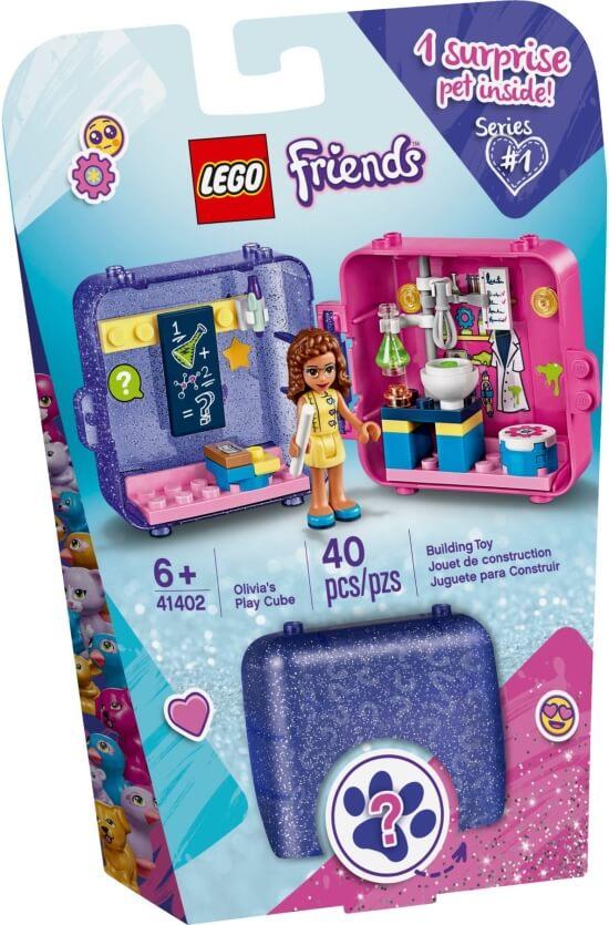 Stavebnice LEGO Herní boxík: Olivia
