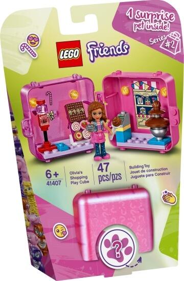 Stavebnice LEGO Herní boxík: Olivia a dortíky