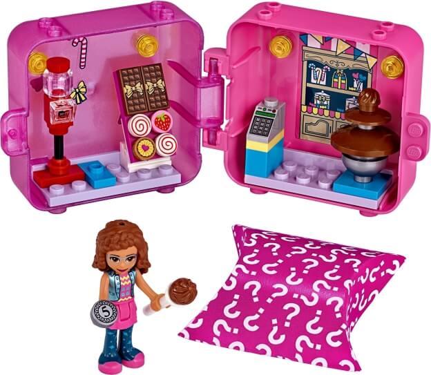 LEGO Friends 41407 Herní boxík: Olivia a dortíky sestaveno