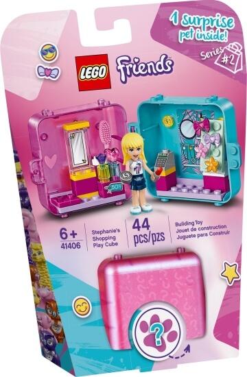 Stavebnice LEGO Herní boxík: Stephanie a móda