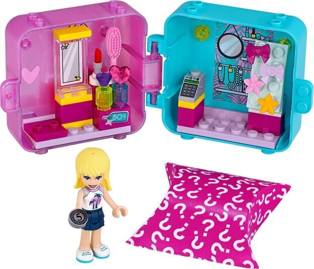 LEGO Friends 41406 Herní boxík: Stephanie a móda sestaveno