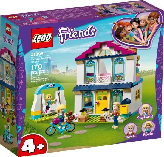 Stavebnice LEGO Stephanie a její dům 4+