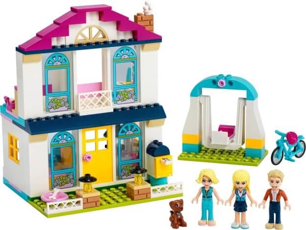 LEGO Friends 41398 Stephanie a její dům 4+ sestaveno