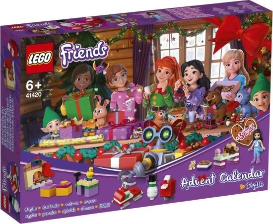 Adventní kalendář LEGO Friends 2020