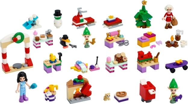 LEGO Friends 41420 Adventní kalendář 2020 dárečky