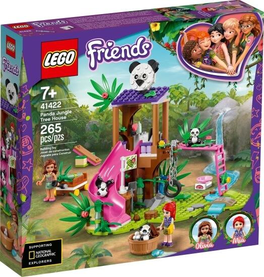 Stavebnice LEGO Pandí domek na stromě v džungli