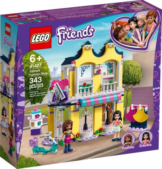 Stavebnice LEGO Emma a její obchod s oblečením