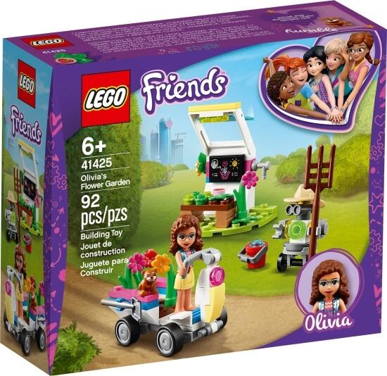Stavebnice LEGO Olivia a její květinová zahrada