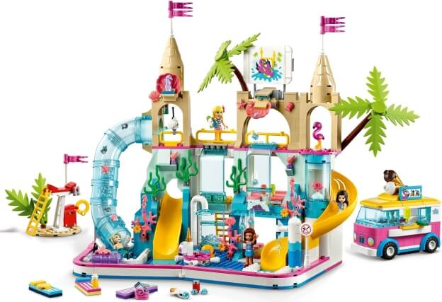 LEGO Friends 41430 Aquapark sestaveno