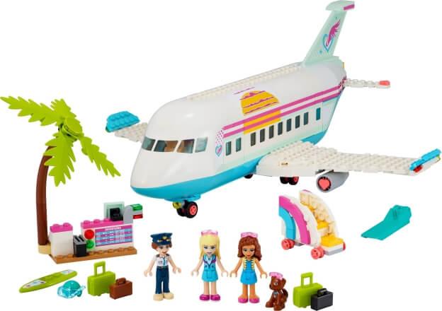 LEGO Friends 41429 Letadlo z městečka Heartlake sestaveno