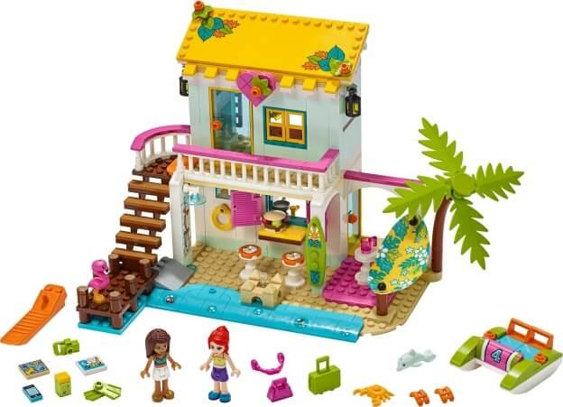 LEGO Friends 41428 Plážový domek sestaveno