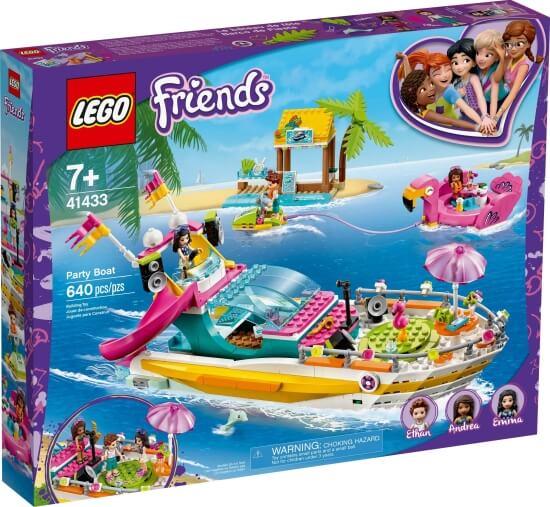 Stavebnice LEGO Párty loď