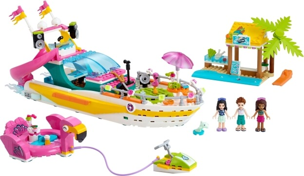 LEGO Friends 41433 Párty loď sestaveno