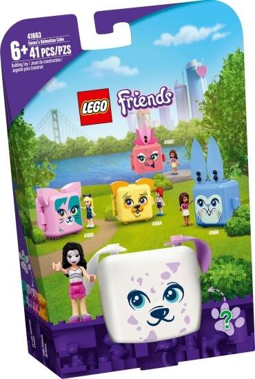 Stavebnice LEGO Ema a její dalmatinový boxík