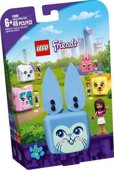 Stavebnice LEGO Andrea a její králíčkový boxík
