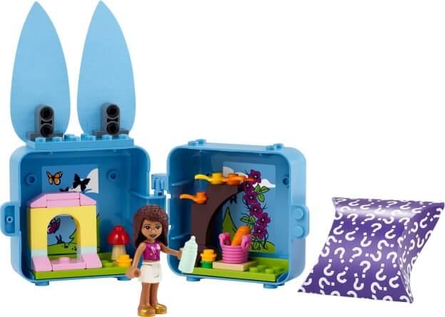 LEGO Friends 41666 Andrea a její králíčkový boxík sestaveno