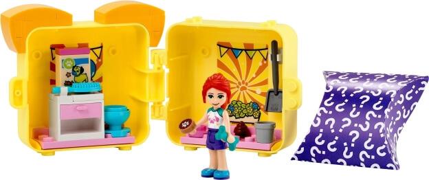LEGO Friends 41664 Mia a její mopsíkový boxík sestaveno