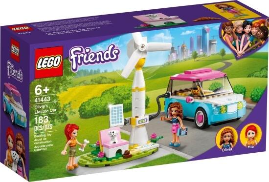 Stavebnice LEGO Olivia a její elektromobil