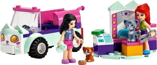 LEGO Friends 41439 Pojízdné kočičí kadeřnictví sestaveno