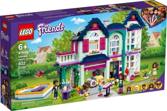 Stavebnice LEGO Andrea a její rodinný dům