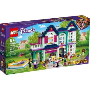 Stavebnice Andrea a její rodinný dům