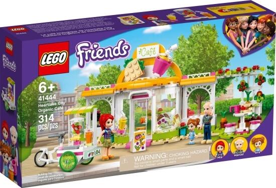 Stavebnice LEGO Bio kavárna v městečku Heartlake