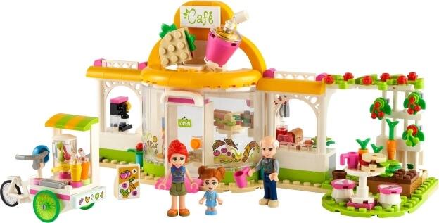 LEGO Friends 41444 Bio kavárna v městečku Heartlake sestaveno
