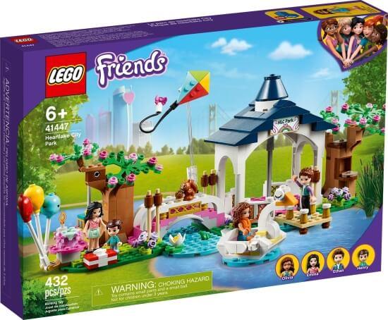 Stavebnice LEGO Park v městečku Heartlake