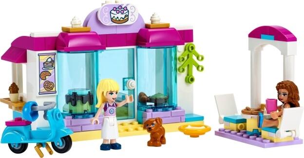 LEGO Friends 41440 Pekařství v městečku Heartlake sestaveno
