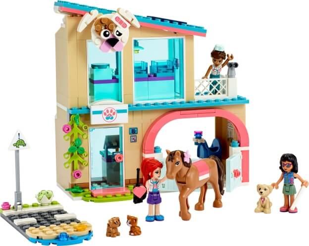 LEGO Friends 41446 Veterinární klinika v městečku Heartlake sestaveno